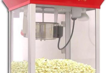 מכונת פופקורן להשכרה