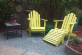 פינת ישיבה מעץ
